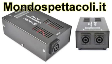CROSSOVER PER SUBWOOFER CON USCITA PER SATELLITE 1000 watt