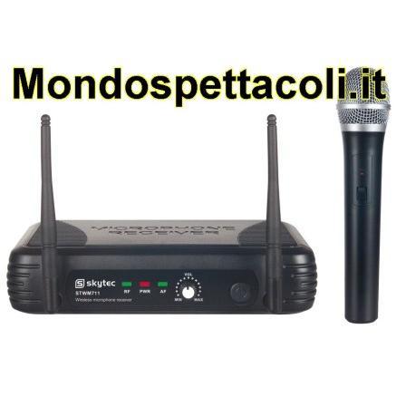 Radiomicrofono palmare senza fili VHF