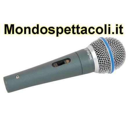 Microfono dinamico da canto Professionale attacco XLR