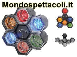 Effetto luce a LED con 6 moduli collegabili a piacimento