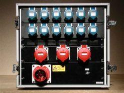 Power box da 63A 63 ampere in flight case