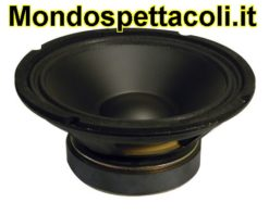 Woofer con cono in Polipropilene 20cm 125 Watt rms 8 Ohm