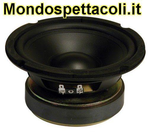 "Woofer Hi-fi cono in Polipropilene 16 cm - 6,5"" - 85Wrms"
