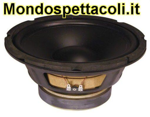 "Woofer Hi-fi cono in Polipropilene 25 cm - 10"" - 125Wrms"