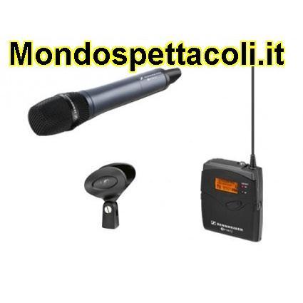 Sennheiser ew 135-p G3 radiomicrofono per telecamera