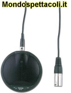 Microfono ambientale da pavimento per teatro