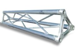 Traliccio in alluminio sezione triangolare da 18cm L 300cm
