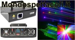 Laser Animato Beamz LS-1W Animation Laser RGB DMX