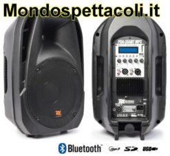 Cassa Amplificata 700 watt con Bluetooth e ingresso USB SD