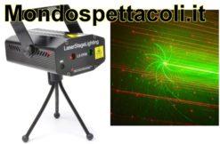 Effetto Mini Laser rosso e verde con gobo