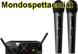 AKG WMS 40 MINI Dual Vocal Set - 2 radiomicrofoni per voce