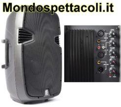 """Cassa Amplificata 800 watt 15"""""""