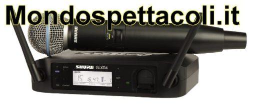 SHURE GLXD24E/B58 BETA58