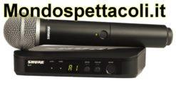 SHURE BLX24E/PG58 - radiomicrofono palmare professionale