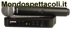 SHURE BLX24E/B58 BETA58 -  radiomicrofono wireless palmare