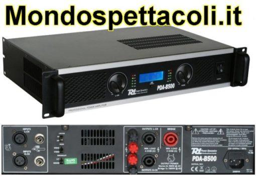 Amplificatore 2x150 Wrms a 8 Ohm e 2 x 250 Wrms a 4 Ohm