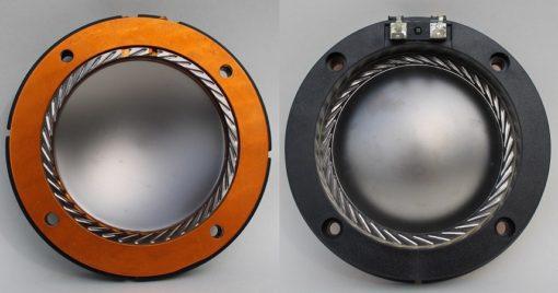 Bobina membrana 75 mm al titanio 8 Ohm universale