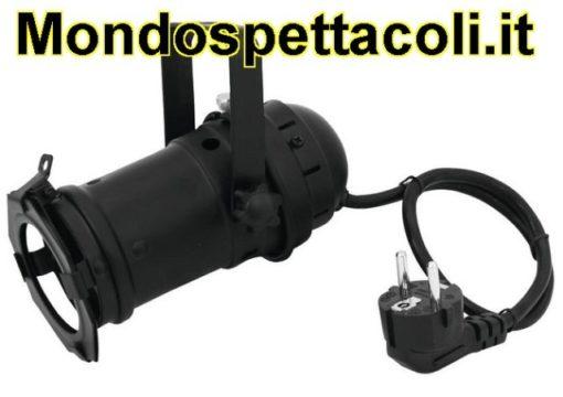 Faro Par 16 nero Spot GU-10