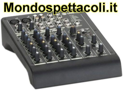 RCF LIVEPAD 6x - mixer 6 canali con effetti