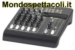 RCF LIVEPAD 8C - mixer 8 canali