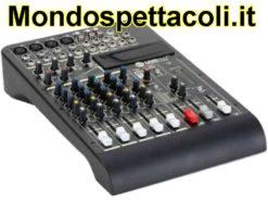 RCF LIVEPAD 8CX - mixer 8 canali con effetti digitali