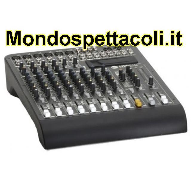 RCF LIVEPAD 12CX - mixer 12 canali con effetti
