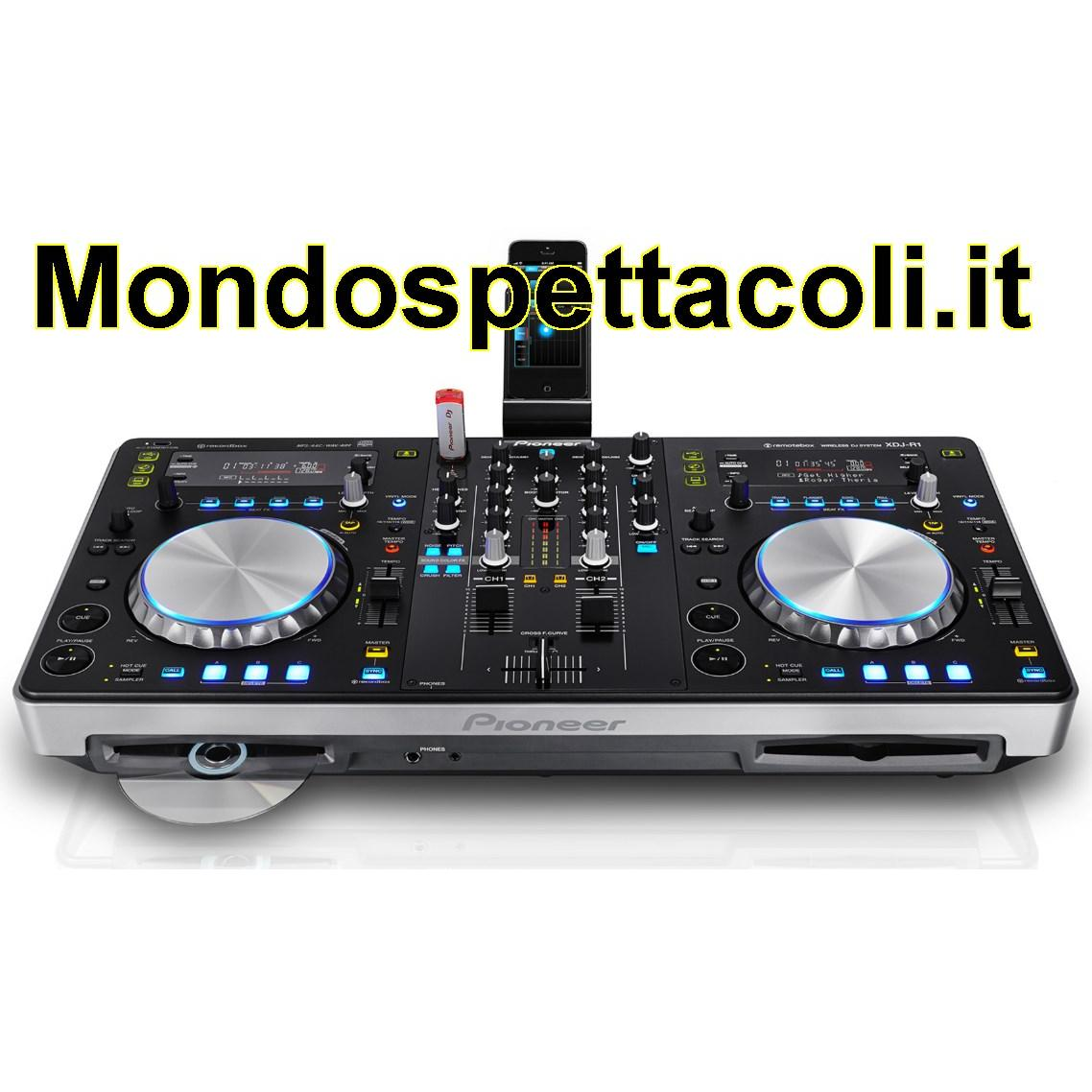 PIONEER XDJ R1 - consolle all-in one per dj