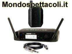 SHURE GLXD14E  - microfono wireless per chitarra e basso