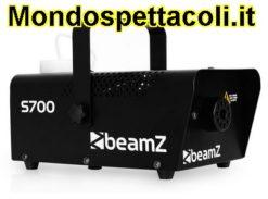 Beamz S700 Macchina fumo da 700W con 500ml Lliquido 75m³/min