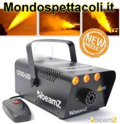 Beamz S700-LED Macchina fumo con effetto fiamma fuoco