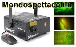 Macchina Fumo con effetto laser incorporato