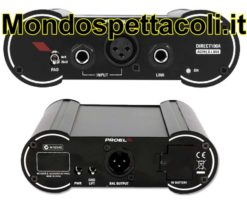DI Box Attiva PROEL Direct100A