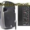 """Cassa amplificata con radiomicrofono da 15"""" - Skyec SPJ 1500A"""