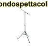 Asta a giraffa teòescopica per microfono - Proel PRO300BK