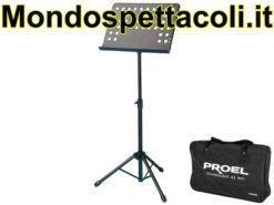 Leggio da orchestra in metallo con borsa - PROEL RSM360M