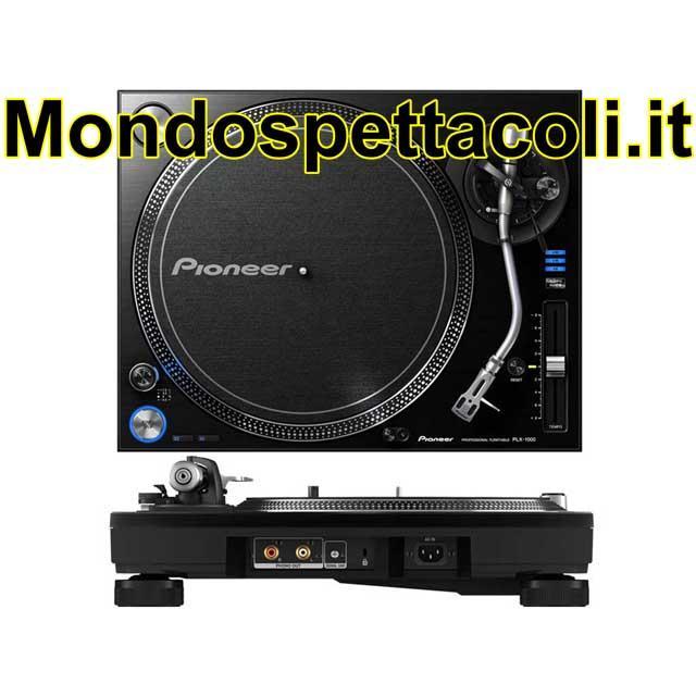 PIONEER PLX1000 - giradischi per dj