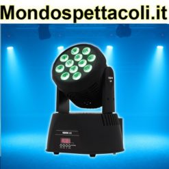 Testa mobile wash led 150 watt