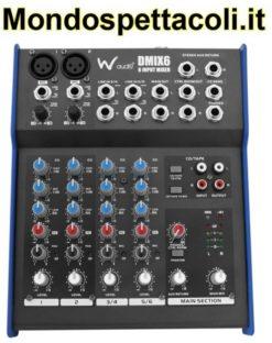 Mixer Waudio DMIX6 - 6 canali