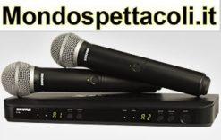 Shure BLX288/PG58 doppio radiomicrofono