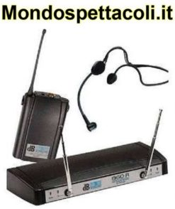 DB PU860 radiomicrofono ad archetto UHF