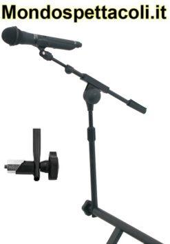 Asta microfonica aggiuntiva per reggitastiere