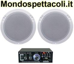 Impianto audio per negozi e bar da 20 a 50 mq