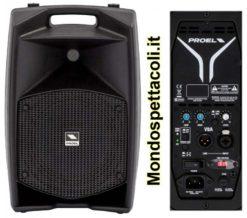 Proel V8A cassa amplificata 400W