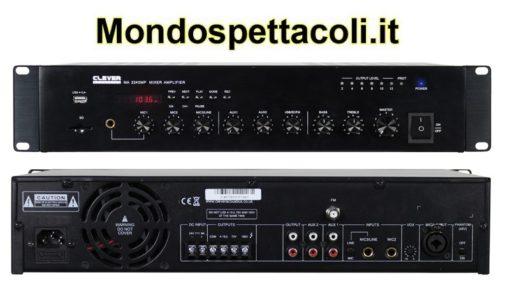 Amplificatore mixer 240W 100V