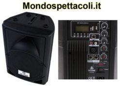 Cassa amplificata 100W con lettore MP3