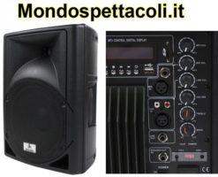 Cassa amplificata 150W con lettore MP3