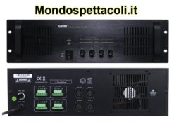 Amplificatore 4x240W 100V