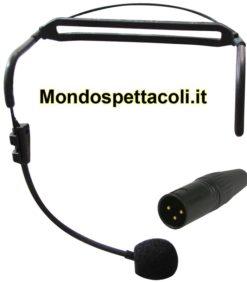 Microfono ad archetto collegabile direttamente a casse e mixer