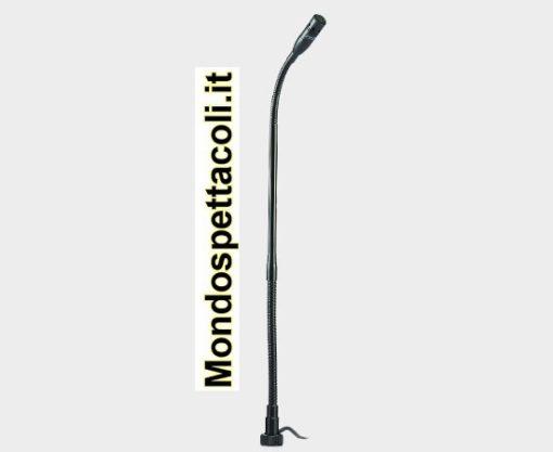 Microfono con attacco a vite per asta e cavo