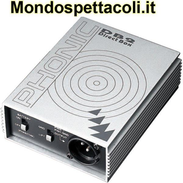 Phonic DB2 DI Box attiva